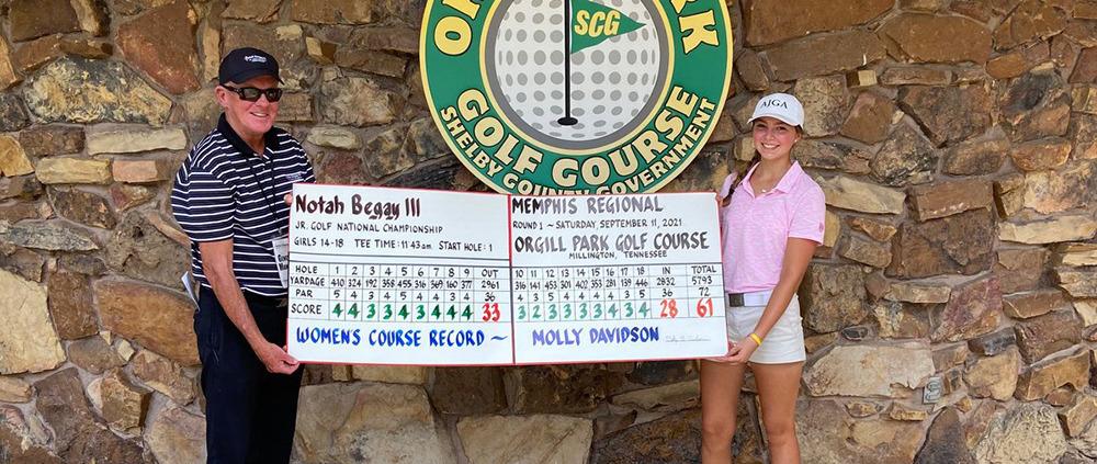 Molly Davidson wins Regional Tournament